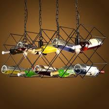 Us 2490 Industriellen Wind Retro Wein Flasche Kronleuchter Bar Kreative Persönlichkeit Anhänger Lampe Restaurant Kunst Dekoration Lampe