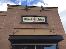 round table pizza belmont round table