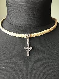 celtic cross pendant with spiritual