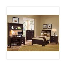 Vaughan-Bassett Twilight Merlot Slat Twin Bedroom Set - Walmart.com