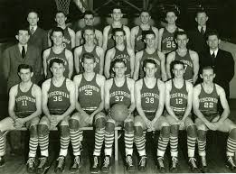 1940 1941 Mens Basketball Team Uws First And Only Ncaa