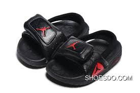 Air Jordan 12 Black Red Slipper For Toddler Authentic Price