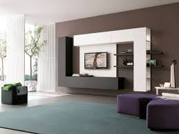 Tv Wall Cabinets Living Room Owlatroncom A Wall Storage Units Installed With Tv At The Middle