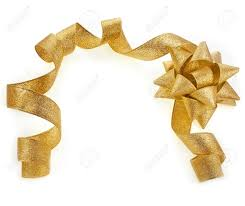 gold ribbon border border frame card of beautiful glitter gold ribbon tape curl stock