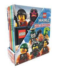 Lego Ninjago Masters of Spinjitzu 10 Books box Gift set Collection wit —  Books2Door