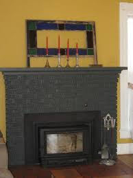 Gray Brick Fireplace Fireplaces Stone Brick And More Hgtv The Crux Grey Paint Wash On