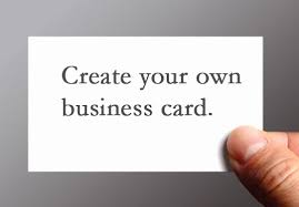 Create Your Business Card Pages Tutorial Create Your Own