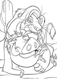 Small Picture Simba Become King The Lion King Coloring Page Animal Coloring