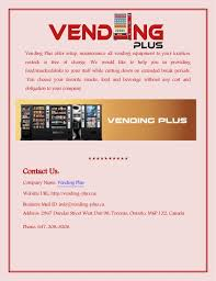 Vending Machine Company Names Mesmerizing Professional Vending Machine Repair Services In Toronto