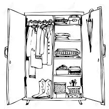 cupboard clipart black and white. pin telephone clipart cupboard #6 black and white b