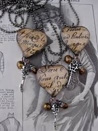 key to my heart necklace by rocemybelle