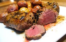 steakhouse style pan seared backstrap with easy garlic er pan sauce realtree camo