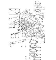 porsche 914 parts 914 6 crankcase left