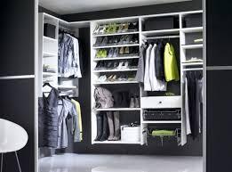 Small Picture Closet Black Wall Paint Ideas Plus White Wooden Shelves Unit On