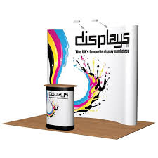 Exhibition Display Stands Uk Cool 322x322 Visage Premium Pop Up Exhibition Stand Display Curved Pop Up