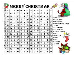 6 Best Images of Big Printable Christmas Word Searches - Christmas ...
