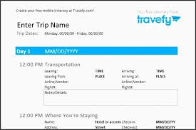 10 Vacation Itinerary Planner Sample - Sampletemplatess ...
