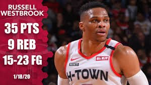 Russell Westbrook drops 35 in Lakers vs. Rockets