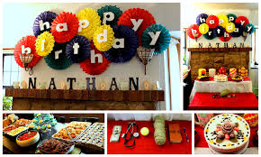 Small Picture How To Make Birthday Decoration At Home Home Decorating Ideas
