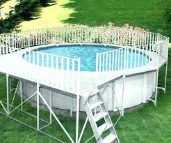 above ground swimming pool decks plans home and pool