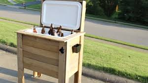 how to build a rustic cooler by home repair tutor