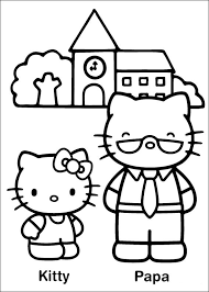 Coloring pages for hello kitty (cartoons) ➜ tons of free drawings to color. Hello Kitty For Kids Hello Kitty Kids Coloring Pages