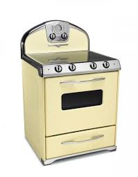 electric stove. Perfect Electric 1954 AllElectric Range Buttercup Yellow For Electric Stove