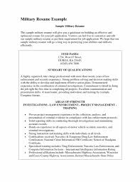 Template Military Transition Resume Examples How To Write A Add