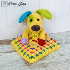 Free Crochet Lovey Pattern Mesmerizing Scrappy The Happy Puppy Lovey And Amigurumi Crochet Patterns Pack