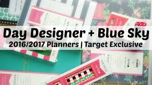 Blue Sky Day Designer Target Day Designer Blue Sky 2016 2017 Planners Target Exclusive