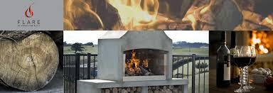 concrete outdoor fireplace nz ideas