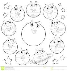 Solar System Coloring Pages Free Jokingartcom Solar System