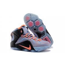 lebron 2015 shoes. discount 2015 nike lebron 12 easter orange grey black basketball shoes \