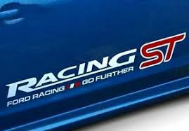 black ford racing logo. ford black sticker racing logo badge decal ecosport figo a