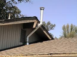 wood stove chimney cap home