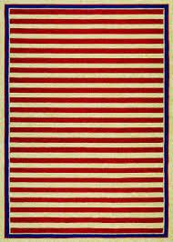 couristan covington nautical stripes red navy area rug