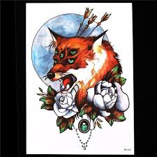 временная татуировка Watercolour Temporary Tattoo Body Art Mysterious Drawing Old School Fo 272973872342 купить на