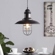 Harper Blvd Lighting Harper Blvd Tessuinum Industrial Cage Pendant Lamp Free