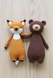 Crochet Animal Patterns Impressive Crochet Patterns By Little Bear Crochets Wwwlittlebearcrochets