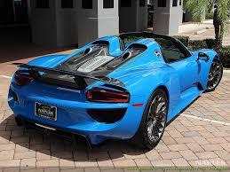 porsche 918 spyder blue. 2015 porsche 918 spyder photo 56 naples fl 34104 blue 1
