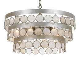crystorama 6006 sa coco drum chandelier antique silver