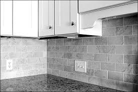 simple carrara marble subway tile backsplash
