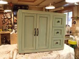 Painted Bathroom Cabinets Painted Bathroom Cabinets Annie Sloan Chalk Paint French Linen