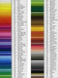 List Of Castell Faber Polychromos Color Chart Pictures And