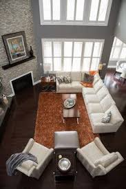 ravishing living room furniture arrangement ideas simple. Good Couch Placement For A Corner Fireplace, Orange Rug Has To Go Though **searing Arrangement. Find This Pin And More On Living Room Ideas Ravishing Furniture Arrangement Simple