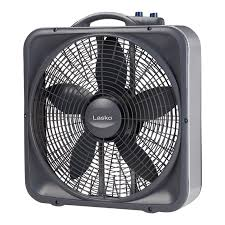 weather shield select 20 box fan with thermostat