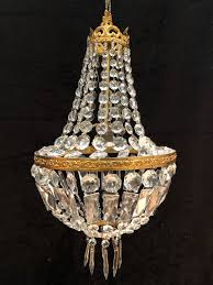 french empire antique chandelier