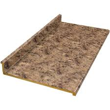 belanger fine laminate countertops wilsonart 6 ft milano amber quarry straight laminate kitchen countertop