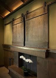 hide flat screen tv attractive design strategies for screens interior barn doors throughout 3
