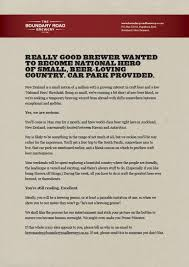 best creative print ads images creative  cracking ad for the boundary road brewery which is conveniently located between hawaii and antarctica